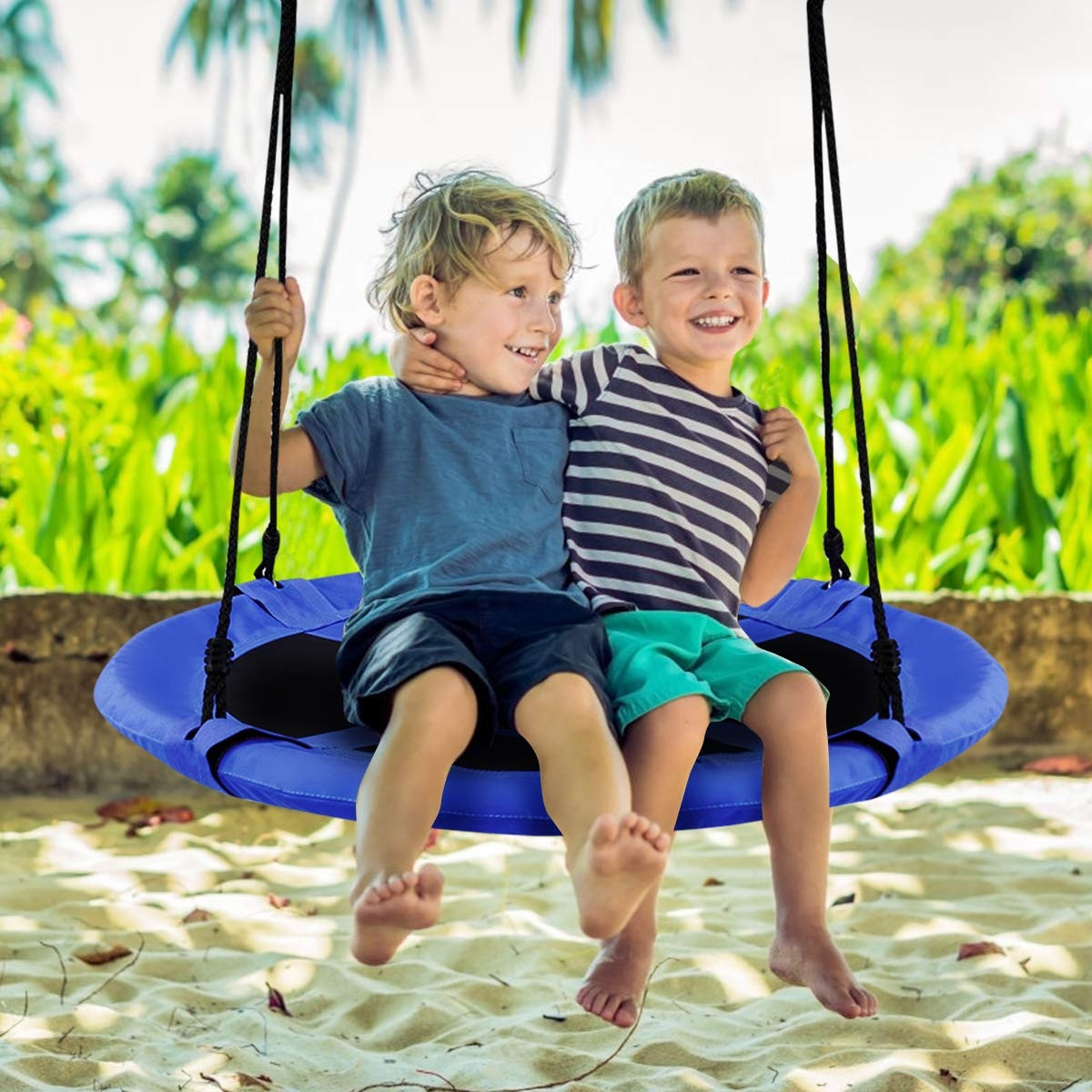 40 Flying Saucer Tree Swing Outdoor Play For Kids